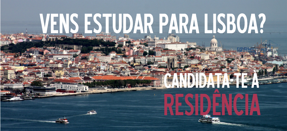 Apply to Álamos if you are going to study in Lisbon